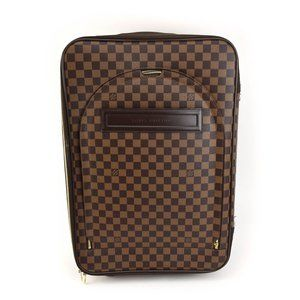 "LOUIS VUITTON ""Ebene Pegase 55"" Carry On Bag (ra)"